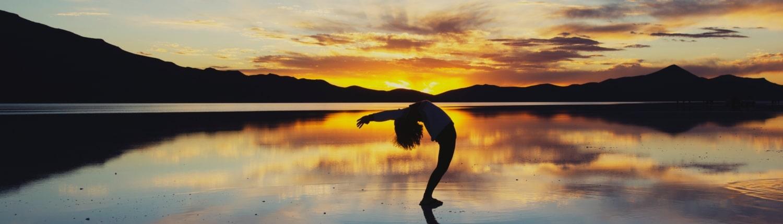 Yoga im Abendlicht - Yoga mit Ursula Reinhold